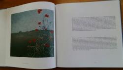 Gesneden Stilte, boek Grietje Postma, klaprozen