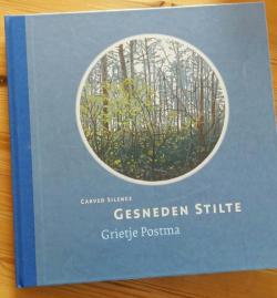 Gesneden Stilte, boek Grietje Postma, voorzijde boek
