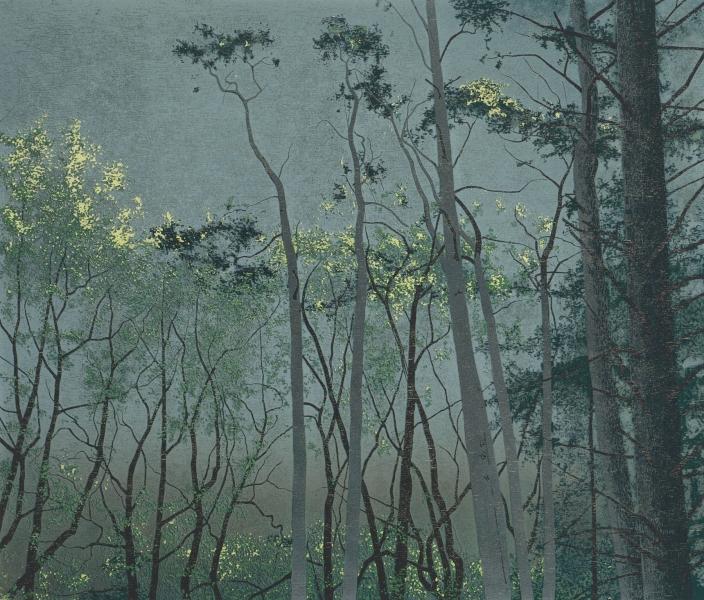 Houtsnede/Woodcut 1989-III
