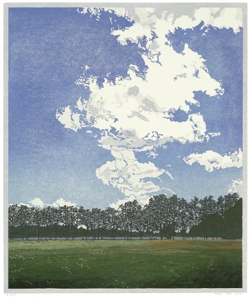Houtsnede/Woodcut 2012-III