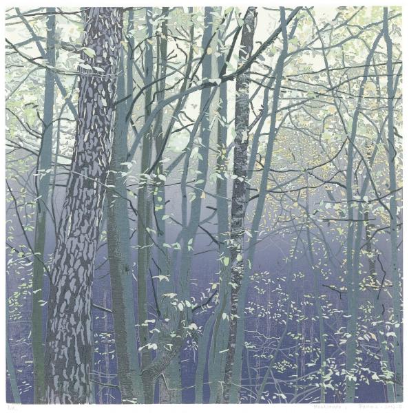 Houtsnede/Woodcut 2014-II